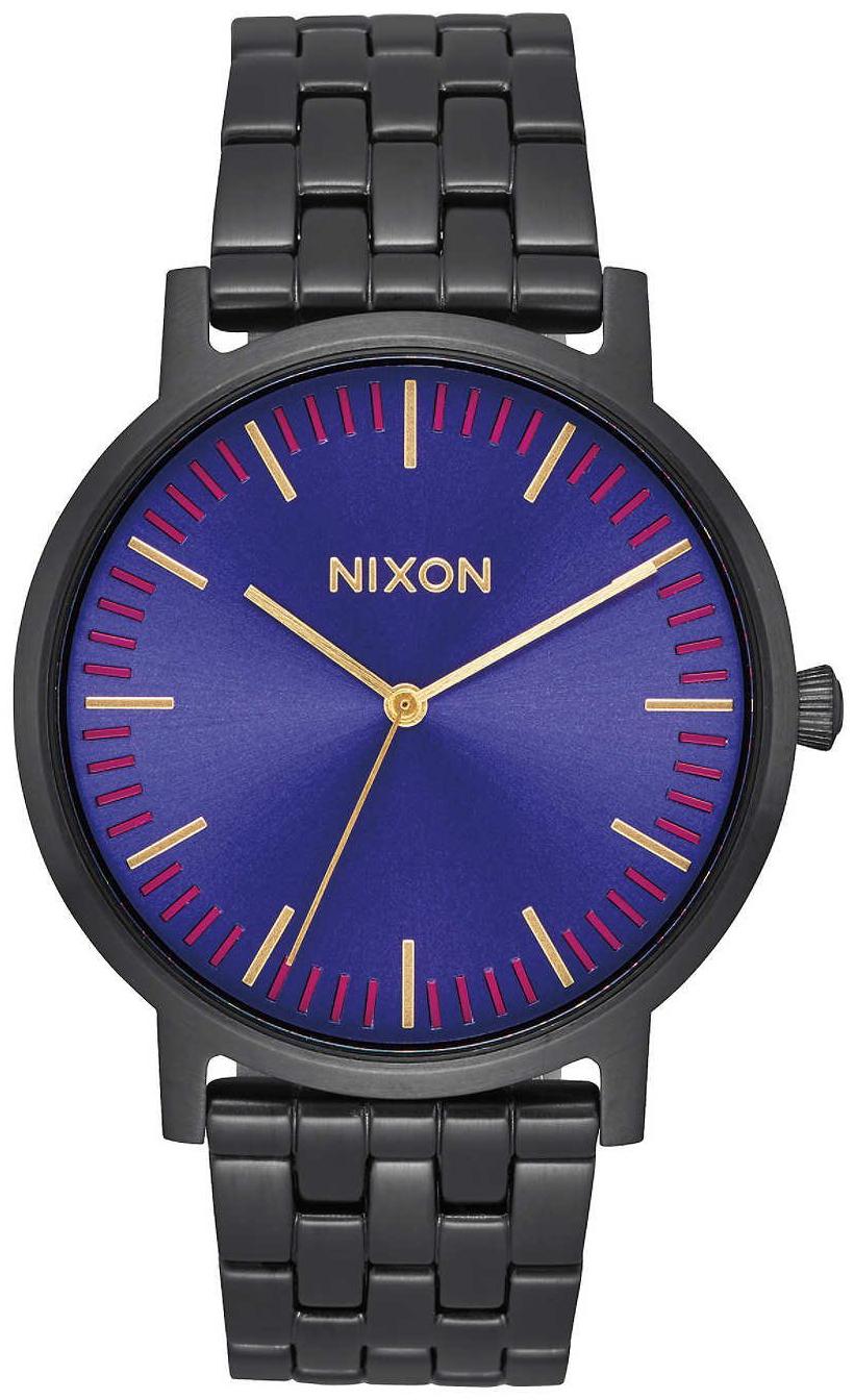Nixon 99999 Herrklocka A10572693-00 Blå/Stål Ø40 mm - Nixon