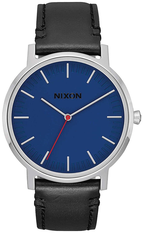 Nixon 99999 Herrklocka A10581647-00 Blå/Läder Ø40 mm - Nixon