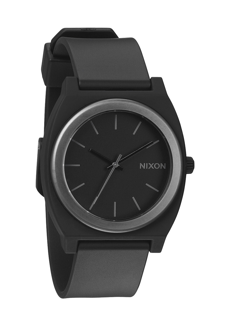 Nixon The Time Teller P A1191308-00 Svart/Plast Ø40 mm - Nixon
