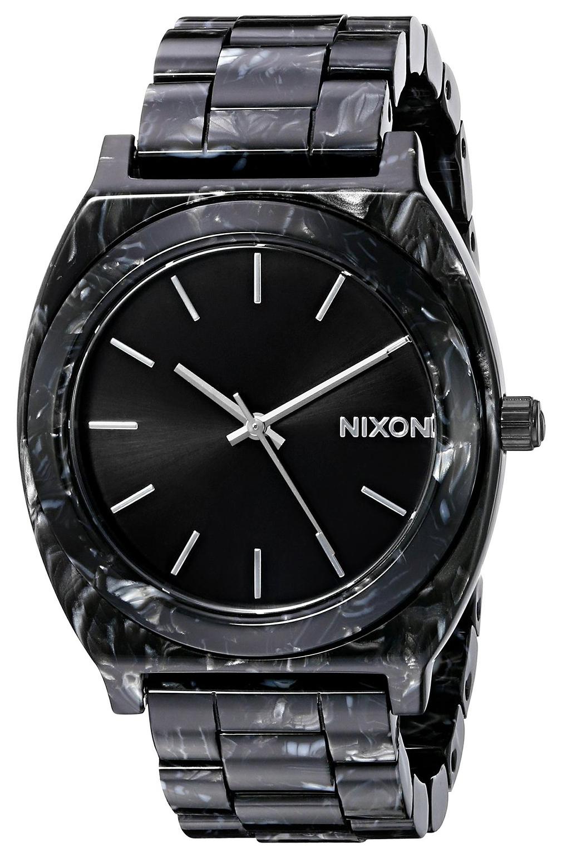 Nixon The Time Teller Damklocka A3272185-00 Svart/Plast - Nixon