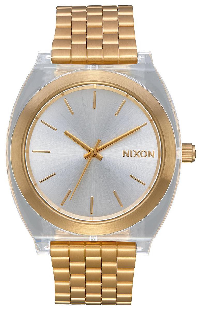 Nixon The Time Teller Herrklocka A3272623-00 Silverfärgad/Gulguldtonat - Nixon