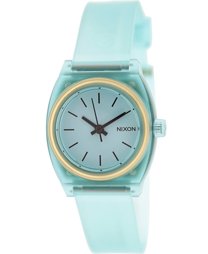 Nixon The Time Teller Damklocka A4251785-00 Blå/Gummi - Nixon
