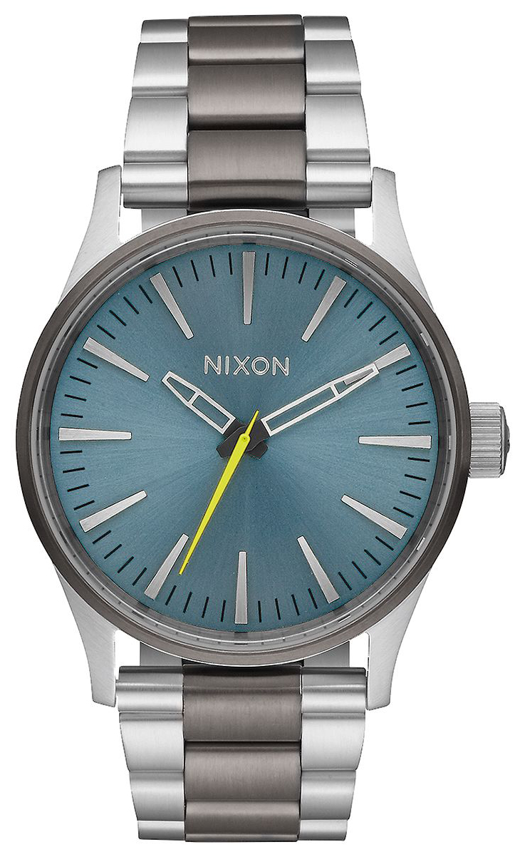 Nixon The Sentry Herrklocka A4502304-00 Blå/Stål Ø38 mm - Nixon