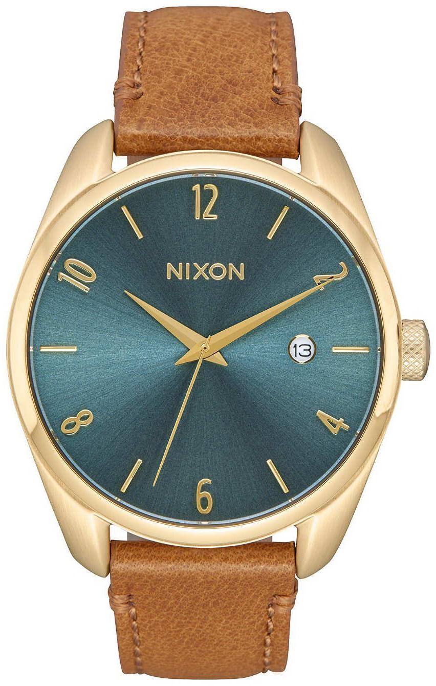 Nixon 99999 A4732626-00 Grön/Läder Ø38 mm - Nixon