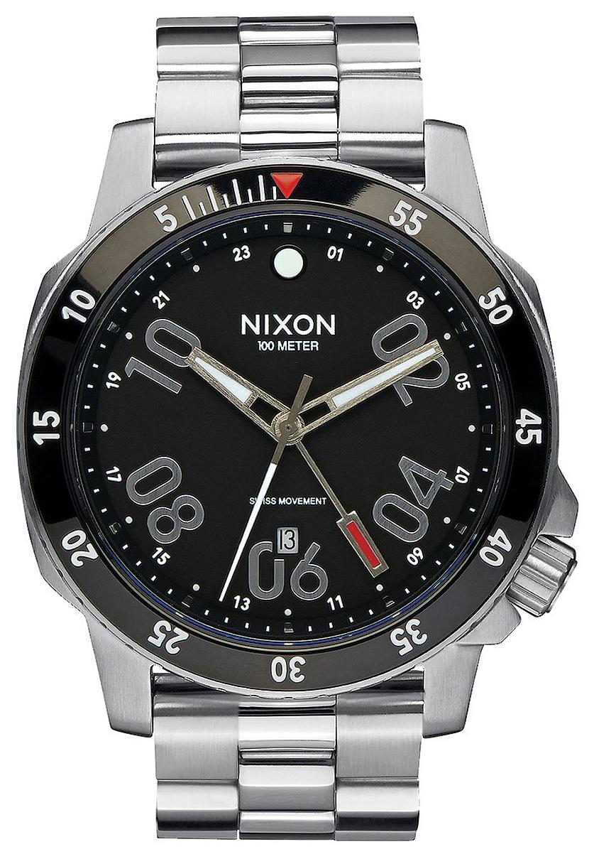 Nixon 99999 Herrklocka A941000-00 Svart/Stål Ø44 mm - Nixon
