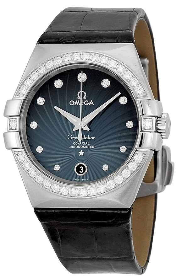 Omega Constellation Co-Axial 35mm Damklocka 123.18.35.20.56.001 - Omega
