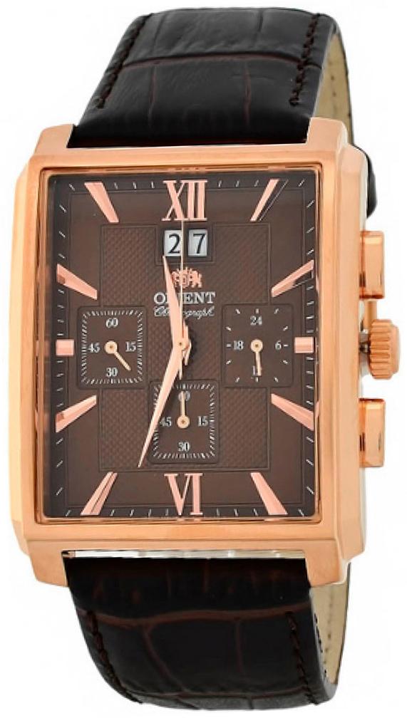 Orient Classic Herrklocka FTVAA001T0 Brun/Läder - Orient