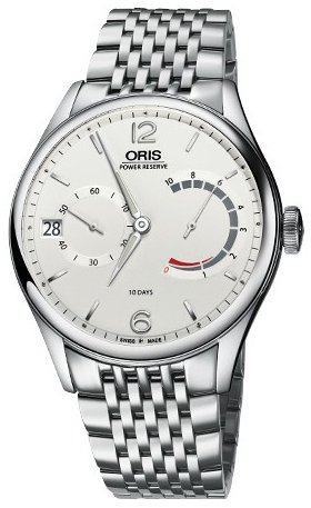 Oris Culture Herrklocka 01 111 7700 4031-Set 8 23 79 Antikvit/Stål Ø43 mm - Oris