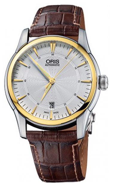 Oris Culture Herrklocka 01 733 7670 4351-07 1 21 73FC Silverfärgad/Läder - Oris