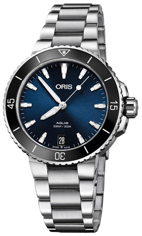 Oris Diving Damklocka 01 733 7731 4135-07 8 18 05P Blå/Stål Ø36.5 mm - Oris