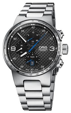Oris Motor Sport Herrklocka 01 774 7717 4164-07 8 24 50 Svart/Stål Ø44 mm - Oris