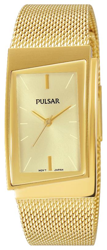 Pulsar Attitude Damklocka PH8226X1 Champagnefärgad/Gulguldtonat stål - Pulsar