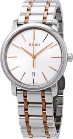 Rado Diamaster Herrklocka R14078103 Silverfärgad/Gulguldtonat stål Ø40 - Rado