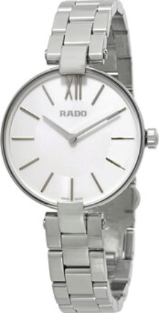Rado Coupole Damklocka R22850013 Silverfärgad/Stål Ø32.5 mm - Rado