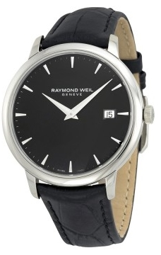 Raymond Weil Raymond Toccata Herrklocka 5488-STC-20001 Svart/Läder Ø39 mm - Raymond Weil