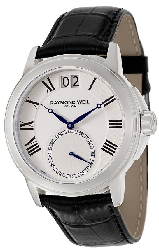 Raymond Weil Tradition Herrklocka 9578-STC-00300 Vit/Läder Ø42 mm - Raymond Weil