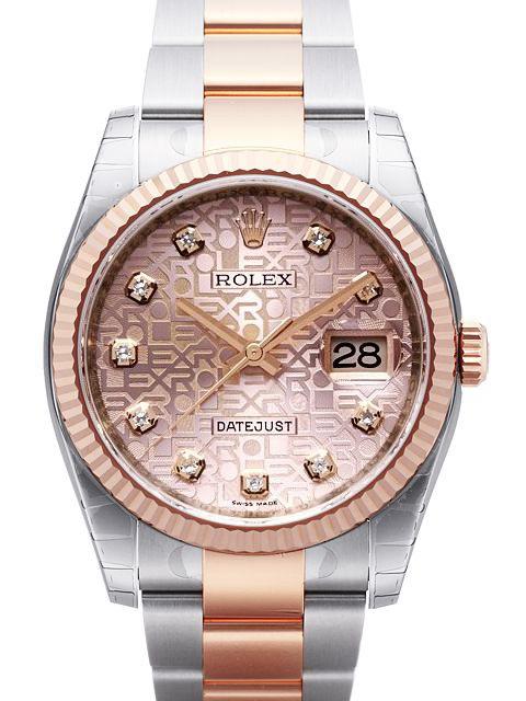 Rolex Datejust 36 Herrklocka 116231-0076 Rosa/Stål Ø36 mm - Rolex