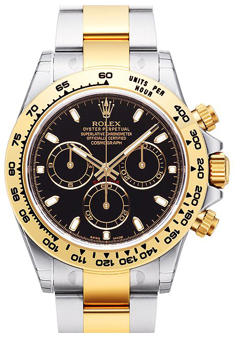 Rolex Cosmograph Daytona Herrklocka 116503-0004 Svart/18 karat gult guld - Rolex