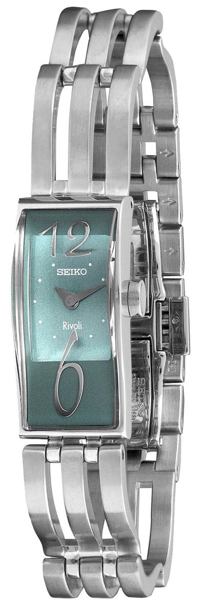 Seiko Damklocka SXH035 Grön/Stål Ø15 mm - Seiko