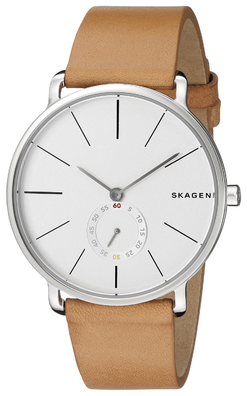Skagen Hagen Herrklocka SKW6215 Vit/Läder Ø40 mm - Skagen
