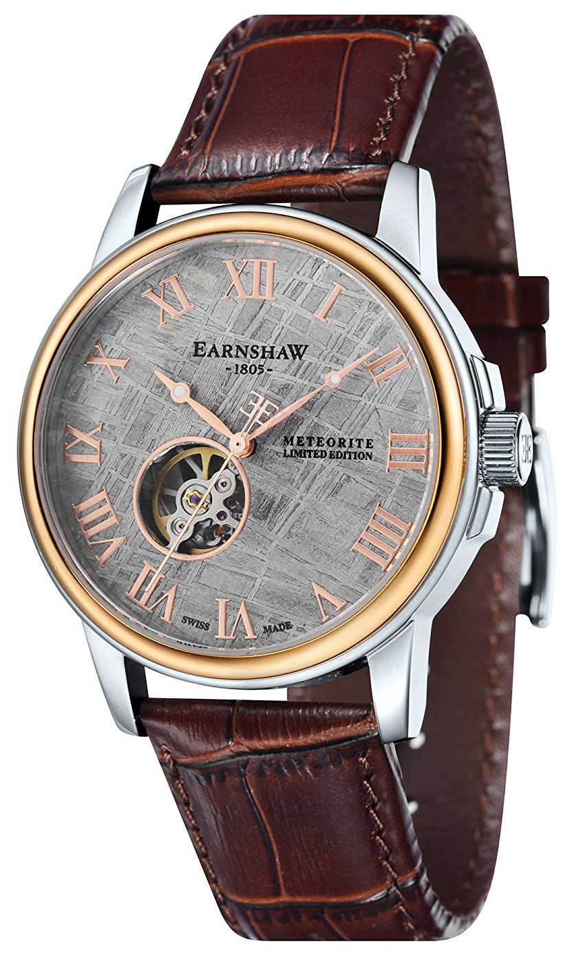 Thomas Earnshaw Beagle Herrklocka ES-0031-03 Grå/Läder Ø42 mm - Thomas Earnshaw