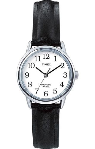 Timex 99999 Damklocka T20441 Vit/Läder Ø25 mm - Timex