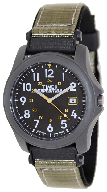 Timex Expedition Herrklocka T42571 Svart/Textil Ø39 mm - Timex