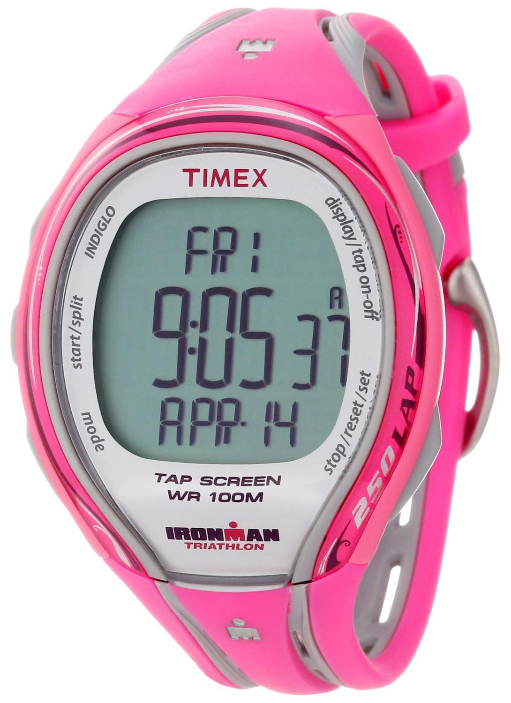 Timex Ironman Damklocka T5K591 LCD/Resinplast - Timex
