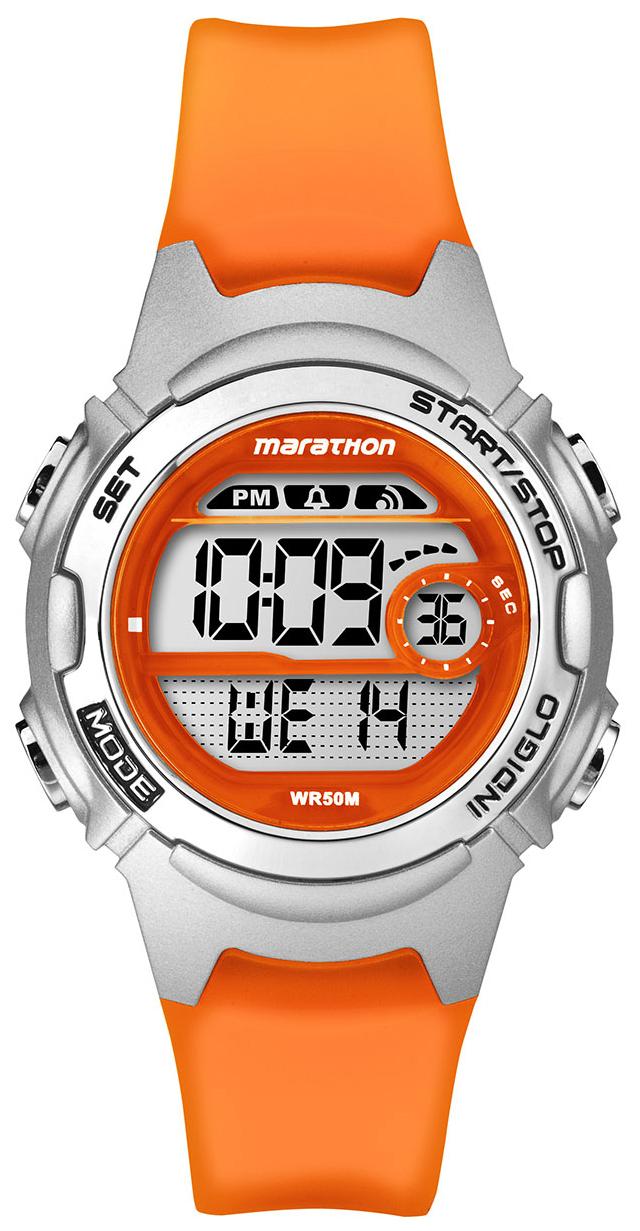 Timex Marathon Damklocka TW5K96800 LCD/Gummi Ø34 mm - Timex