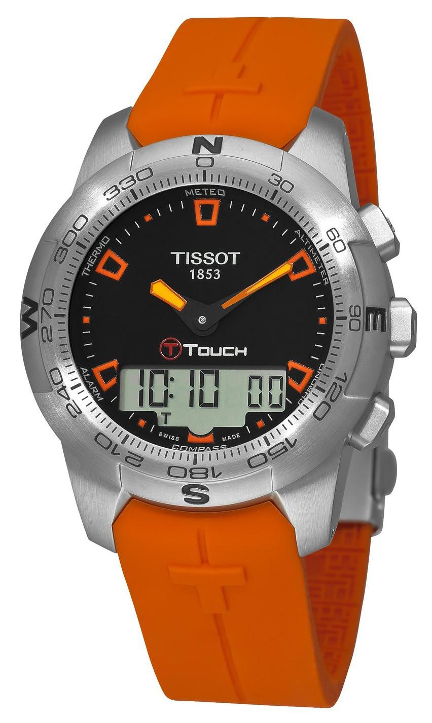 Tissot Herrklocka T047.420.17.051.01 Svart/Gummi Ø43 mm - Tissot