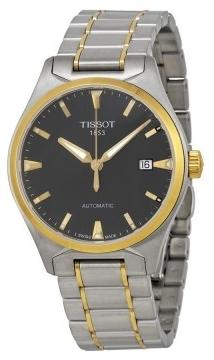 Tissot T-Classic T Tempo Herrklocka T060.407.22.051.00 Svart/Gulguldtonat - Tissot