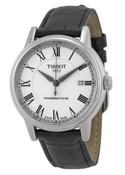 Tissot T-Classic Carson Automatic Herrklocka T085.407.16.013.00 Vit/Läder - Tissot