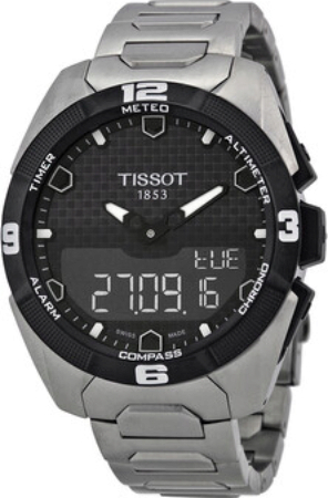 Tissot Touch Collection Herrklocka T091.420.44.051.00 Svart/Titan Ø45 mm