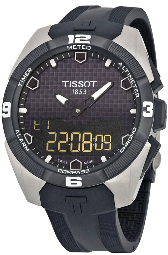 Tissot Tissot Touch Collection Herrklocka T091.420.47.051.00 Svart/Gummi - Tissot