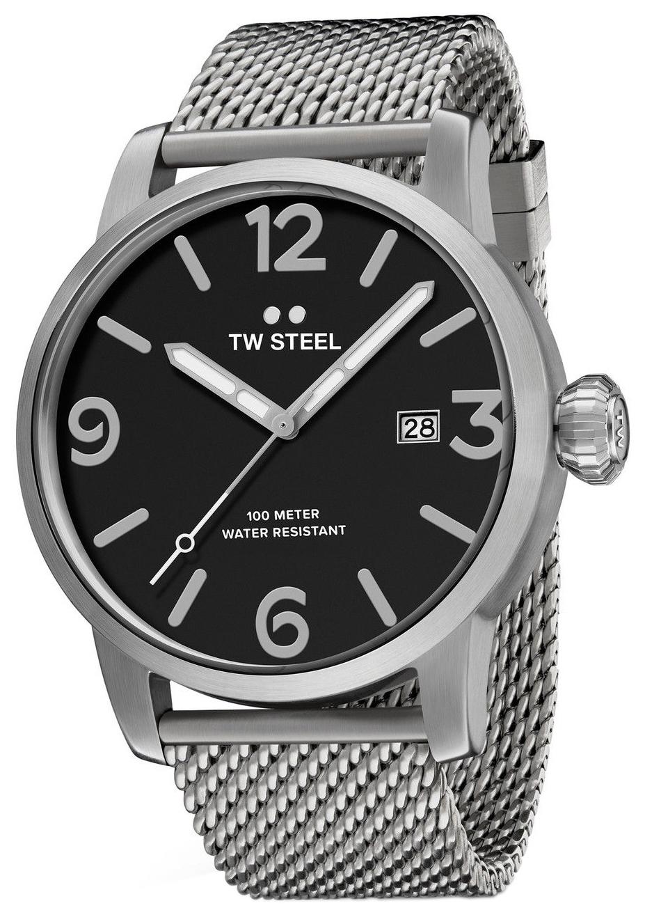 TW Steel Maverick Herrklocka MB11 Svart/Stål Ø45 mm - TW Steel