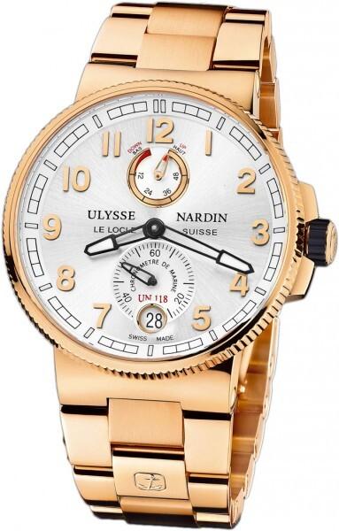 Ulysse Nardin Marine Collection Chronometer Herrklocka 1186-126-8M-61 - Ulysse Nardin