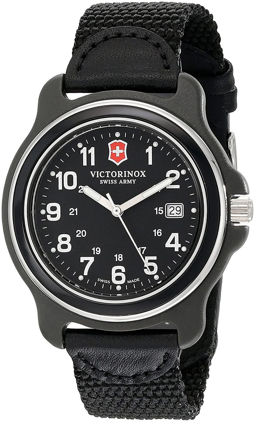 Victorinox 99999 Herrklocka 249087 Svart/Textil Ø43 mm - Victorinox