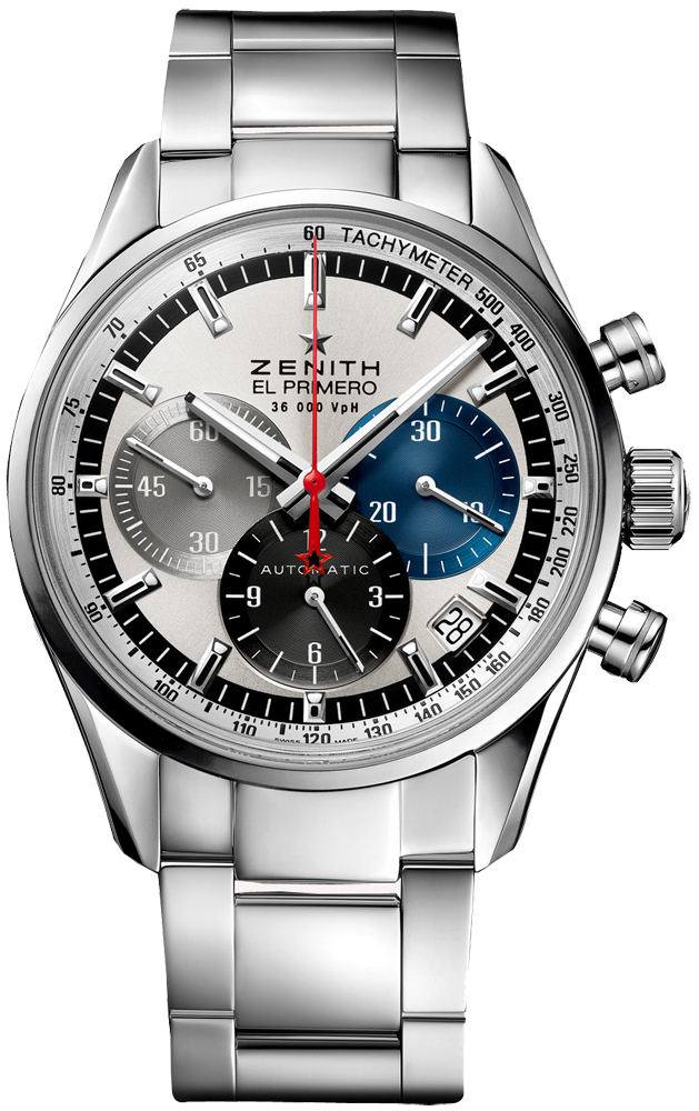 Zenith El Primero Damklocka 03.2150.400-69.M2150 Silverfärgad/Stål Ø38 - Zenith