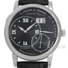 A. Lange & Söhne Lange 1 Svart/Läder Ø42 mm