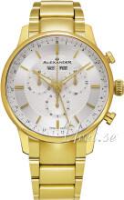 Alexander Statesman Silverfärgad/Gulguldtonat stål Ø42 mm