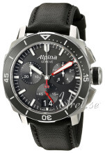 Alpina Seastrong Svart/Läder Ø44 mm