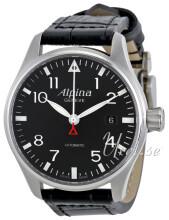 Alpina Startimer Svart/Läder