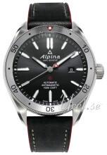 Alpina Alpiner Svart/Läder Ø44 mm