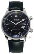 Alpina Seastrong Svart/Läder Ø42 mm