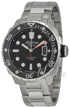 Alpina Seastrong Svart/Stål Ø44 mm