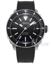 Alpina Seastrong Svart/Gummi Ø44 mm