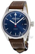 Alpina Startimer Blå/Läder