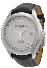 Baume & Mercier CLIFTON Silverfärgad/Läder