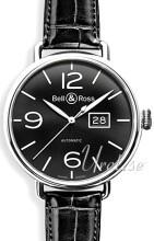 Bell & Ross WW1 Svart/Läder Ø45 mm