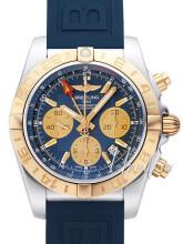 Breitling Chronomat 44 GMT Blå/Gummi